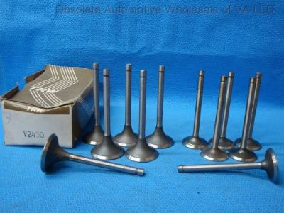 Find Jeep Willys 230 Tornado Intake Exhaust Valve Set 12 Gladiator Wagoneer 1963 - 73 motorcycle in Vinton, Virginia, United States, for US $192.00