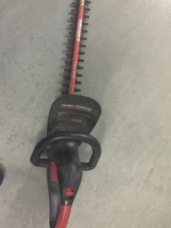 Task Force 18 inch Electric Hedge Trimmer