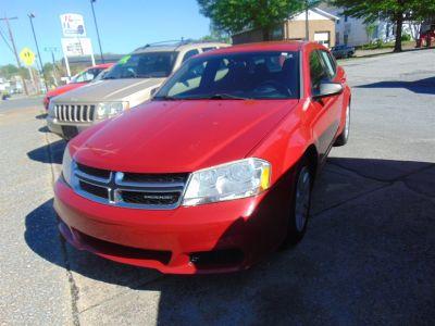 2012 Dodge Avenger SE (Red)