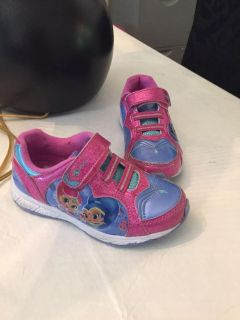 Size 11 shimmer and shine shoes