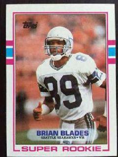 FREE - Seattle Seahawks Brian Blades football card