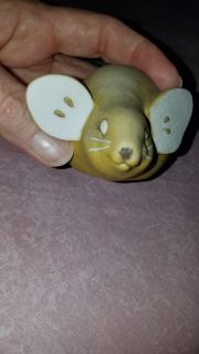 Pear Mouse by enesco. no box