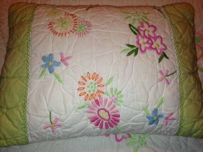 Quilt and Sheets-Pottery Barn