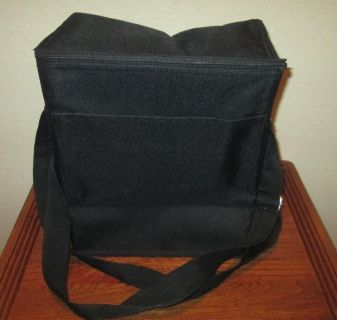 THIRTY ONE BLACK INSULATED TRAVEL STORAGE FOOD DRINKS BAG TOTE! NEVER USED!