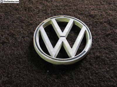 Original VW Hood Emblem, 3 Prong