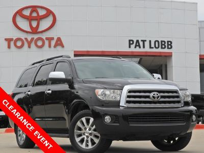 2015 Toyota Sequoia Limited (black)