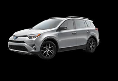 2018 Toyota RAV4 SE Hybrid AWD-i (Silver Sky Metallic)