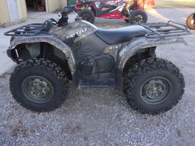 2008 Yamaha Grizzly 400 Auto. 4x4 Utility ATVs Houston, OH