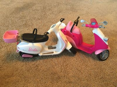 Barbie scooters