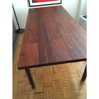 Cb2 Reclaimed Wood Dining Table