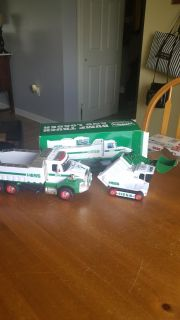 2017 Hess truck with original box. Includes batteries for both vehicles. Never played with!