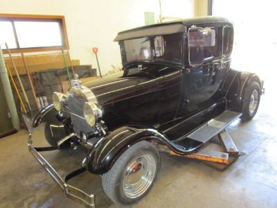 1926 Ford Model A 5 Window Coupe
