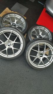 Complte set | BBS FI-R Wheels | Michelin Pilot Sport 4S and | TPMS
