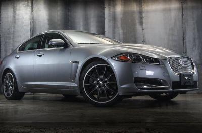 2012 Jaguar XF Supercharged (Silver)