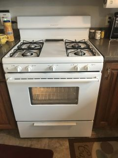 Frigidaire gas range stove and oven