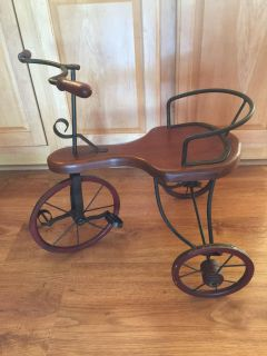Decorative tricycle