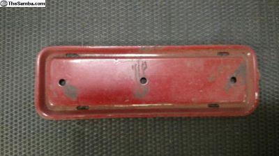 Radio block off plate
