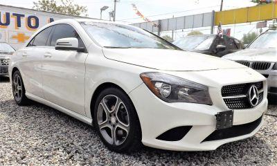 2014 Mercedes-Benz CLA-Class CLA250 (Cirrus White)