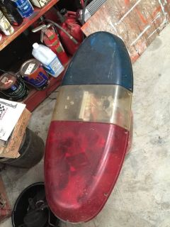 Old 70s police light