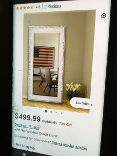 I have a mirror just like this for 200.00