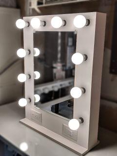 Handbuilt Vanity Makeup Mirror