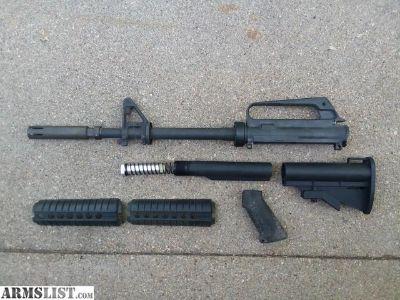 For Sale: Vietnam XM177 CAR15 AR15 clone build parts