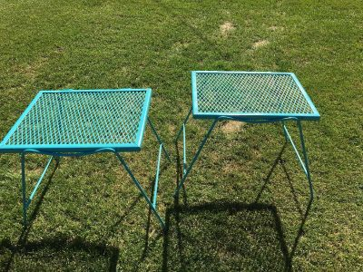 Patio side tables