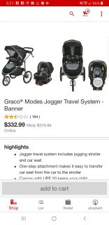 Graco modes stroller system