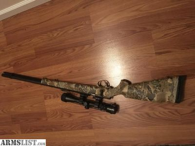 For Sale/Trade: 50 CAL MUZZLELOADER WITH SCOPE