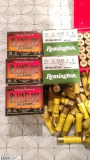 For Sale: 20 gauge waterfowl ammo
