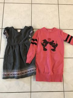 Girls Winter Dresses - Size 6-7- Thickson & Rossland, Whitby