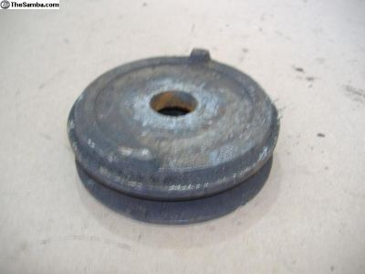 """VW type 3 bug AC Pulley 3-1/2"""" wide"""
