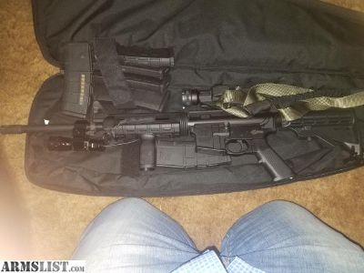 For Sale: Smith and Wesson AR15 with vortex red dot and flashlight. 6 mags