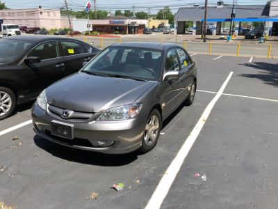 2005 Honda Civic EX (Satin Silver Metallic)