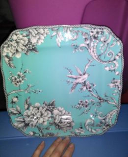 GORG TURQUOISE DECORATIVE PLATE