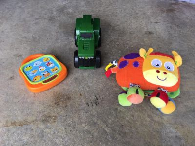 Toys lot of 3