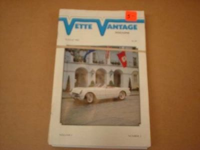 Sell Vette Vantage Magazines -1980's motorcycle in Williamsburg, Virginia, United States, for US $10.00