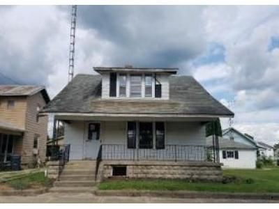 2 Bed 1 Bath Foreclosure Property in Union City, OH 45390 - N Walnut St