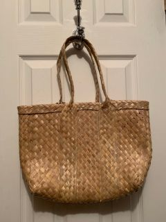 $1 straw bag (porch pick up deal)
