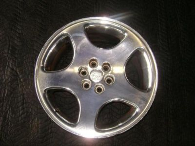 Sell DODGE VIPER Wheel 18x10, 5 spoke HIGH POLISHED 1999 2000 2001 2002 SOME DAMAGE motorcycle in Eagle River, Wisconsin, United States, for US $300.00