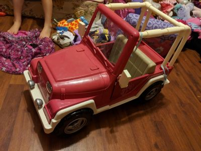 My generation doll jeep