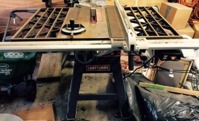 $400, Craftsman Table Saw wstand and Iron Wings