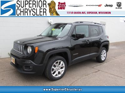 2016 Jeep Renegade Latitude (Black Clear Coa)