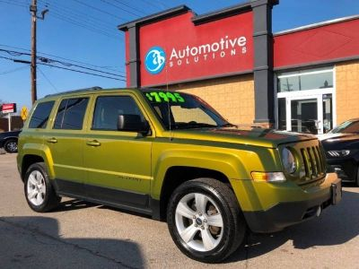 2012 Jeep Patriot Latitude 4dr SUV