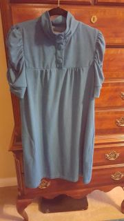 Dark Teal dress, or use as blouse with leggings.