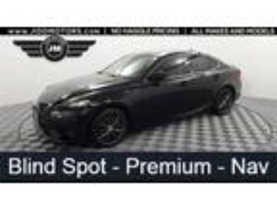Used 2016 Lexus IS 300 Black, 41.6K miles