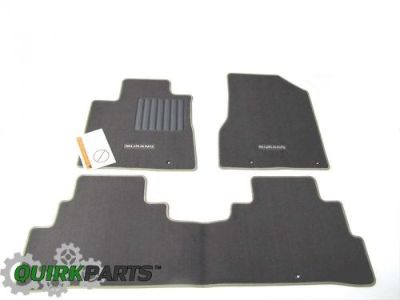 Find 2015 Nissan Murano Carpeted Cashmere Chocolate Beige Interior Floor Mats Set OEM motorcycle in Braintree, Massachusetts, United States, for US $118.88