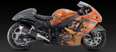 Purchase Vance & Hines Exhaust CS One Dual Black Suzuki Hayabusa 2008-2011 motorcycle in Pomona, California, US, for US $761.35