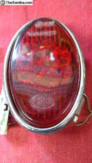 Hassia 56-61 beetle tail light lens NOS