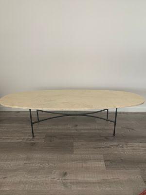 Vintage resin top surfboard coffee table